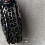 Серебряный кулон/таблетница с эмалями,старый экспортный Китай, фото №10