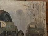 Соцреализм. Картина СССР, 1976г., 70х94см, фото №4