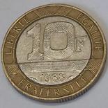 Франція 10 франків, 1988