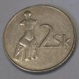 Словаччина 2 крони, 1993