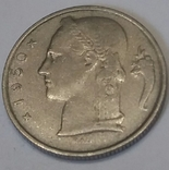 Бельгія 5 франків, 1950