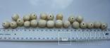 Бусины из слоновой кости,103,5г, фото №12