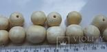Бусины из слоновой кости,103,5г, фото №13