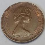 Велика Британія 1 новий пенні, 1974