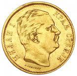 10 Динар 1882, Сербия, фото №2
