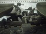 Весы 1908 г С  Русалками на 20 кг., фото №7