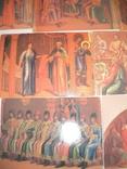 """7 открыток""""Живопись на стенах Грановитой палаты Кремля"""", фото №5"""
