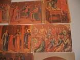 """7 открыток""""Живопись на стенах Грановитой палаты Кремля"""", фото №8"""