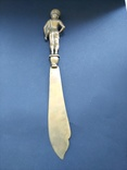 Антикварный нож для бумаг, писем Брахман, фото №5