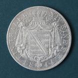 1 талер 1844,Фридрих Август(Саксония), фото №3
