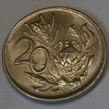 Південно-Африканська Республіка 20 центів, 1984