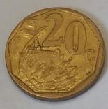 Південно-Африканська Республіка 20 центів, 1999