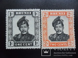 Британские колонии. Бруней. 1952 г. MH, фото №2