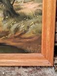 Картина в раме пейзаж,холст,масло автор Алатарцев, фото №5