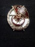 Орден  боевого красного знамени азербайджана  копия, фото №2