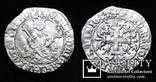 Король Неаполю Роберт І «Мудрий» (1309-1343рр.), срібний джильято 1309-1317рр., м.Неаполь, фото №2