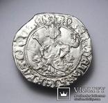 Король Неаполю Роберт І «Мудрий» (1309-1343рр.), срібний джильято 1309-1317рр., м.Неаполь, фото №5