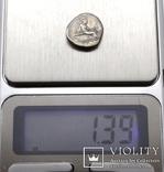Острів Евбея, м.Гістіея (Ореос), срібний тетробол, ІІІ-ІІ ст. до н.е., фото №11