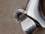 Серебряный кулон-часы, Италия, фото №4