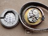 Серебряный кулон-часы, Италия, фото №9
