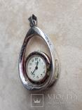 Серебряный кулон-часы, Италия, фото №10