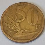 Південно-Африканська Республіка 50 центів, 2008