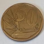 Південно-Африканська Республіка 50 центів, 1996