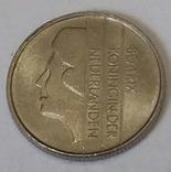 Нідерланди 10 центів, 1986 фото 2