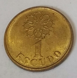 Португалія 1 ескудо, 1989
