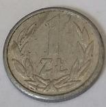 Польща 1 злотий, 1990