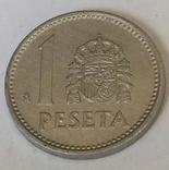 Іспанія 1 песета, 1987