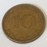 Німеччина 10 пфенігів, 1971