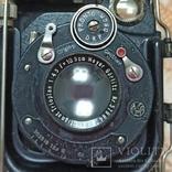 Немецкая камера Объектив Meyer-Görlitz Trioplan 1:4.5 F=10cm, фото №2