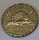 Канада 5 центів, 1985