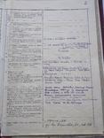 Личное дело Подполковник Югославия Сербия Гражданство СССР, фото №6