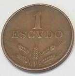 Португалія 1 ескудо, 1973