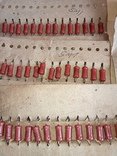 Резисторы  МЛТ-1  5м1  - 57 шт., фото №3