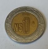 Мексика 1 новий песо, 1994