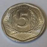 Східні Карибські Штати 5 центів, 2010