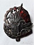 Знак Герою революционного движения, большой, тип1, копия, 1932г, №155, фото №3
