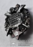 Знак Честному воину Карельского фронта, РККА и НКВД, наградной, копия, 1930гг, №077, фото №11