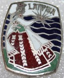 Значок Латвия тяжелый, фото №2