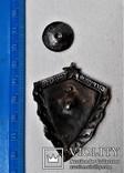 Знак Отличный пограничник КГБ, копия, сборный на заклепках, фото №4