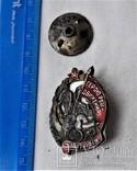 Знак Герою революционного движения, малый, тип2, копия, 1932г, №24964 мондвор, фото №4