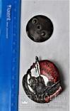 Знак Герою революционного движения, большой, цельный, тип3, копия, 1932г, №0774, фото №4