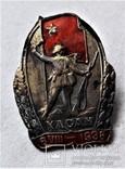 Знак Участнику Хасанских баев, Хасан, копия, 1939 год, фото №3