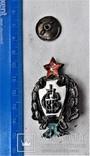 Знак 1е Советские кавалерийские Петроградские командные курсы, РККА, копия, 1920г, №043, фото №4