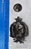 Знак 1е Советские кавалерийские Петроградские командные курсы, РККА, копия, 1920г, №043, фото №5