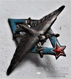 Знак Летчик ВВС РККА авиац. училищ, копия, №0049, фото №11
