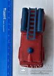 Машинка пожарная СССР клеймо (23), фото №5
